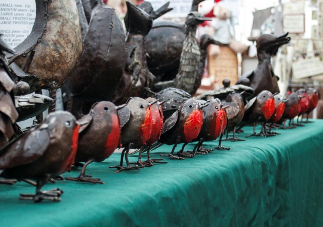 B&B Christmas Market Robins